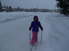 Bellie is my skiing buddy